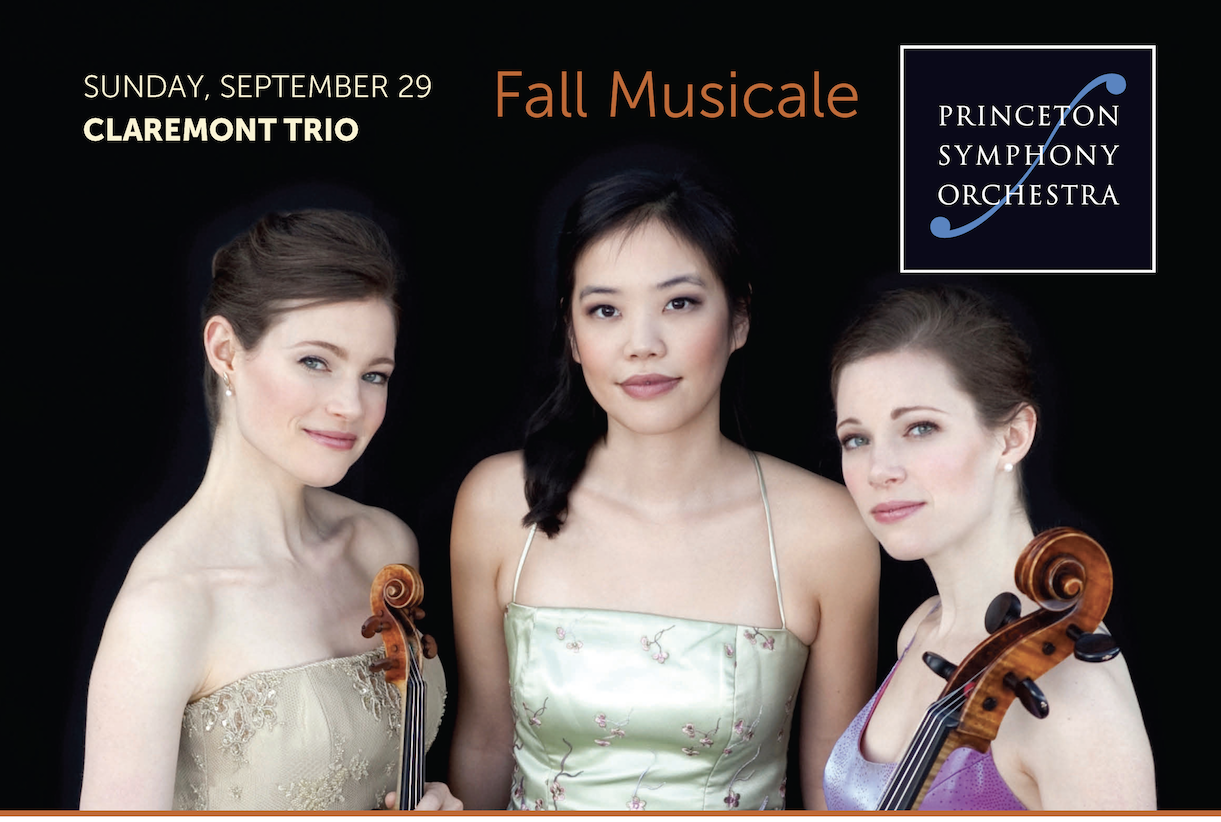 PSO Fall Musicale featuring the Claremont Trio