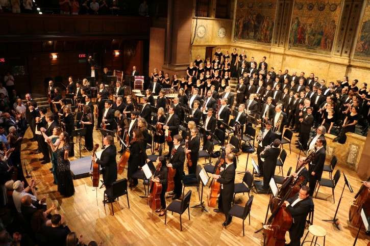 PSO Beethoven's 9th performance with Westminster Symphonic Choir