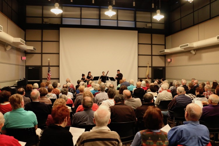Monroe Township Library performance space