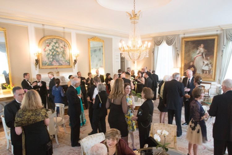 Gala cocktails in Jasna Polana's Parlour Room