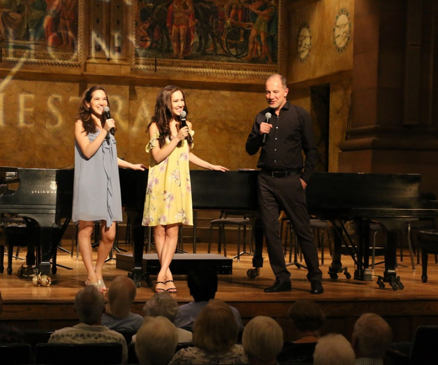 Christina and Michelle Naughton, Rossen Milanov Pre-Concert Talk