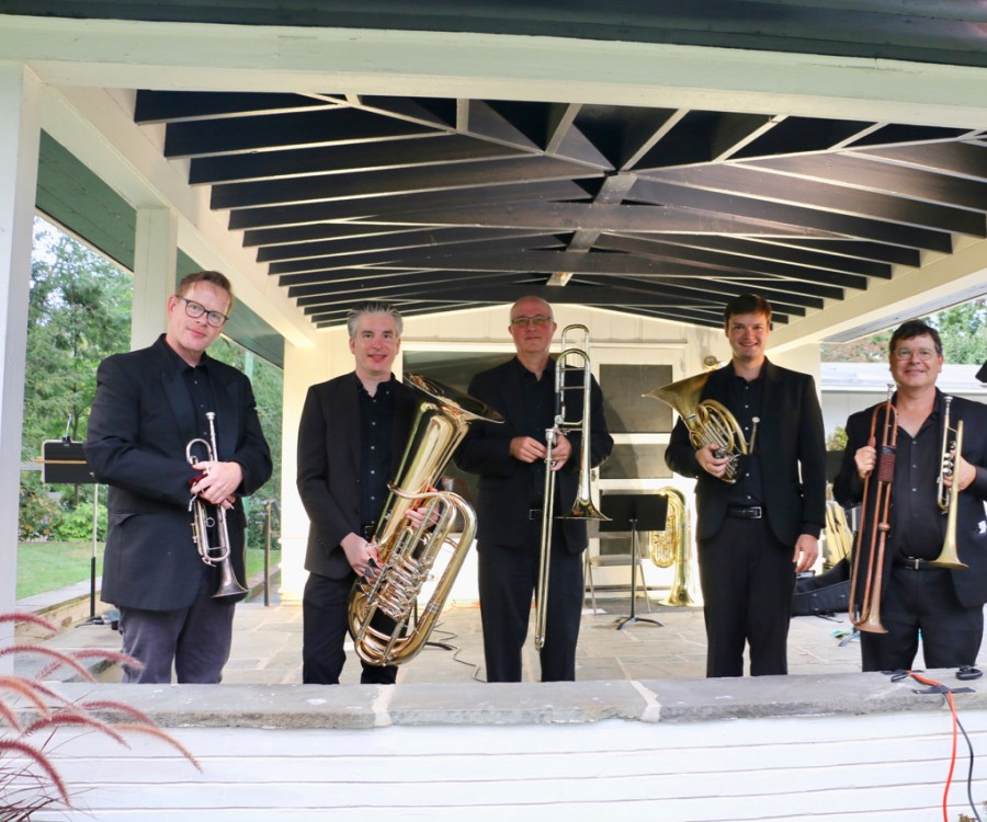 PSO Brass Quintet at Morven Museum and Garden
