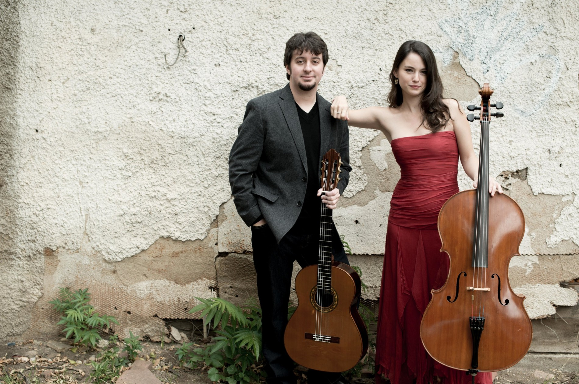 Patrick Sutton, guitar and Kimberly Patterson, cello
