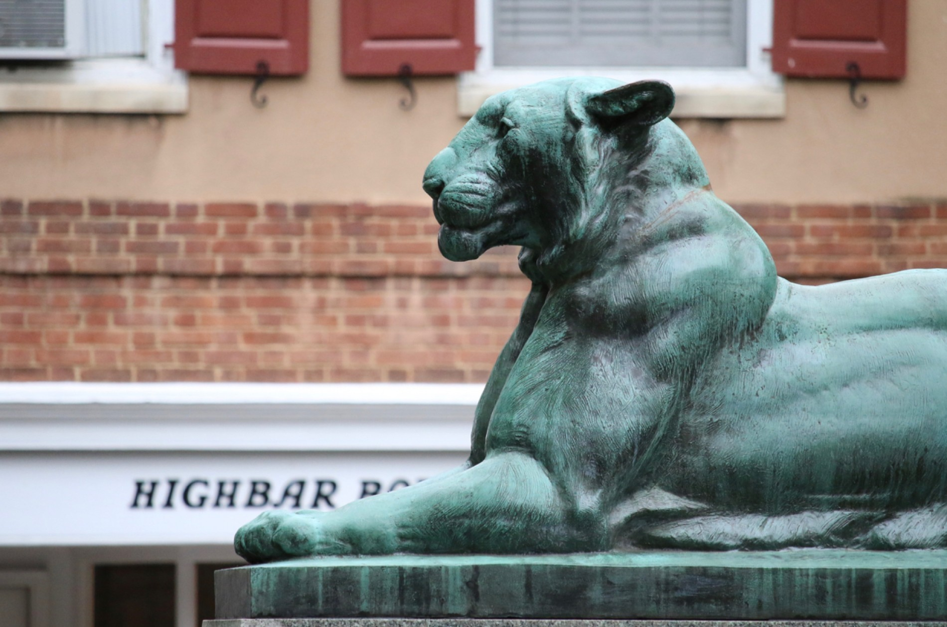 Palmer Square, Princeton Tiger Sculpture